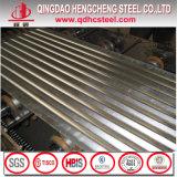Heißes eingetauchtes nullflittergi-gewölbtes Metalldach-Blatt