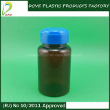 120ml Pet Amber Capsule Bottle con Easy Open Cap