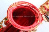 Hanhai Music / Saxophone Alto Rouge avec Eb Key