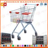 Supermarkt-Euroart-Zink-Einkaufswagen-Laufkatze (Zht13)