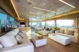 Seastella 85 'Iate de motor de luxo com Flybridge