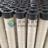 Alta temperatura industrial do saco de filtro do ar da poeira do plissado de Forst