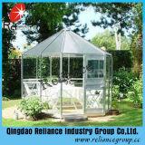 el vidrio de flotador ultra claro del vidrio de flotador de 4-12m m/Extral/bajo plancha el vidrio del vidrio/invernadero
