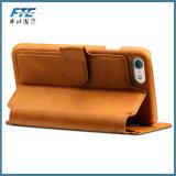 Новый новаторский случай мобильного телефона бумажника случая PU 2017 кожаный