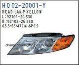 Misure cape della lampada dei ricambi auto per gli optimum 2009 di KIA. OEM: 92101-2g530/92102-2g530
