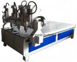 3D CNC van 4 As Machine van de Router met Roterend voor Hout, Houtbewerking, Reclame