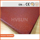 Тюфяк цветастого Fleck резиновый с прочным материалом резины EPDM для личного суда пригодности гимнастики