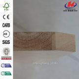 Tablero de madera empotrado de madera de goma