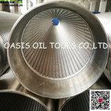 Filtri per pozzi della base dell'acciaio inossidabile 316L Rod/schermi del Johnson/filtri per pozzi dell'acqua