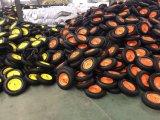Rotella pneumatica 4.00-8 del carrello di giardino della rotella della riga della barra di rotella da 16 pollici