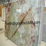 Branco natural/preto/verde/bege/cor-de-rosa/mármore pedra azul para o assoalho