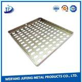 Aluminium/laiton/tonnelier de tôle d'OEM estampant des parties avec des rivets