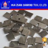 segment van de Hulpmiddelen van de Diamant van 450mm het Scherpe voor het Graniet van de Steen