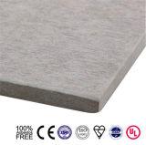 Tablero del cemento de la fibra de la partición de la alta resistencia / hoja del cemento / tablero plano del cemento