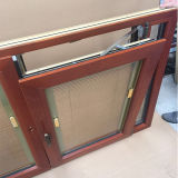 Il cliente ha fatto la stoffa per tendine di alluminio di legno Windows per il cliente caraibico