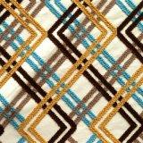 Ammortizzatore della tessile della casa del poliestere di Embroiered e tessuto del sofà