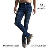 Os homens para o Mercado Europeu Jeans moda jeans Denim
