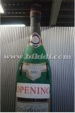 Riesige aufblasbare Champagne-Flasche, Holland-aufblasbarer Flaschen-Ballon mit Alter K9051