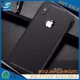 Caixa nova do telefone da batida com quadro de alumínio 4 em 1 para o iPhone X