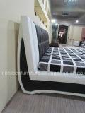 Un065 varios muebles de dormitorio cama de cuero