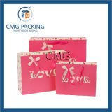 Bolsa de regalo de impresión de letras de amor pequeño (DM-GPBB-084)
