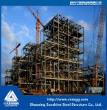 Estructura de acero pesada de la central eléctrica