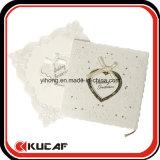 Carte de mariage de luxe d'impression personnalisé carte d'Invitation découpé au laser