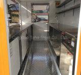 Distributeurs automatiques de fast food panier alimentaire Mobile pour la vente de remorque