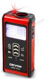 Regla de 60m de distancia digital del detector Fog-Proofing Rangefinders Medidor láser