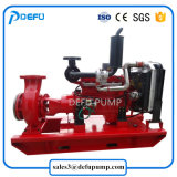 Horizontale Dieselmotor-zentrifugale Feuerbekämpfung-Enden-Saugpumpen