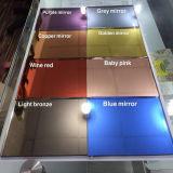 목욕탕 사용 장식적인 색깔 산화 방지제 미러