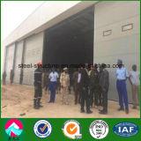 Le hangar de l'Armée préfabriqués au Niger