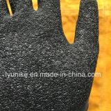 """Черный """"мятым"""" эффектом перчатки защитные перчатки из латекса черного цвета"""