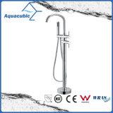 Rubinetto indipendente popolare della vasca della stanza da bagno di Cupc dell'acciaio inossidabile (AF6057-2)