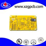 2-laag PCB van Kingboard Kb6165 met het Gele Masker van het Soldeersel