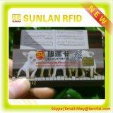 Kundenspezifische ISO7816 Sle4442 FM4442 FM4428 Atmel RFID Karte des PVC-intelligente Kontakt-IS