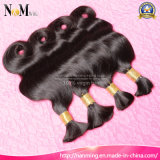 Vente en gros Coudre dans les cheveux Indian Body Wave / Straight Human Bulk Hair Bundles
