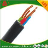 Cu y al Conductor, aislamiento XLPE, recubierto de PVC el cable eléctrico, Yjlv Yjv