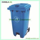 Servicio de personalización de la piscina de 100 L Mobile Bin para basura