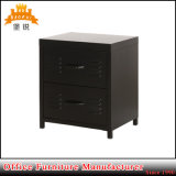 2 Drawers Steel Mini Bedside Cabinet