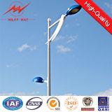 O ISO de pólo claro 10m de rua Certificate Q235 HDG