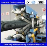 Трубы из волнистого листового металла стены PE/PP/PVC линия двойной пластичная прессуя