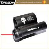 Laser Vermelho caça DOT olhos com rampa de Tecelão de 20mm