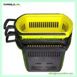 La manipulation de fruits en plastique de pliage spécifique Panier Portable Shopping 45L