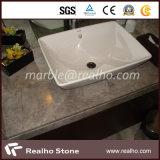 Modern Stone Solid Polished Surface Bathroom Vanity Top com Certificado SGS