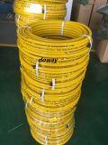 Flexible, manguera de Gas Natural de alta calidad con malla de fibra