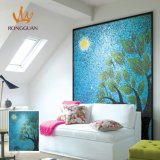 Heißer Verkauf Foshan Hand-Schnitt Entwurfs-Wand-Kunst-Mosaik-Glas-Mosaik