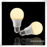 ampoule de 8W 10W 12W 14W 18W DEL avec la garantie de 3 ans
