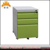 Gabinete de enchimento do metal móvel de aço da gaveta do pó Coated3