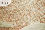 2016 310GSMによってジャカードソファーファブリックを編む大きいかえでの葉